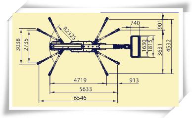 Platform Basket 30T的四条腿打开的两种情况
