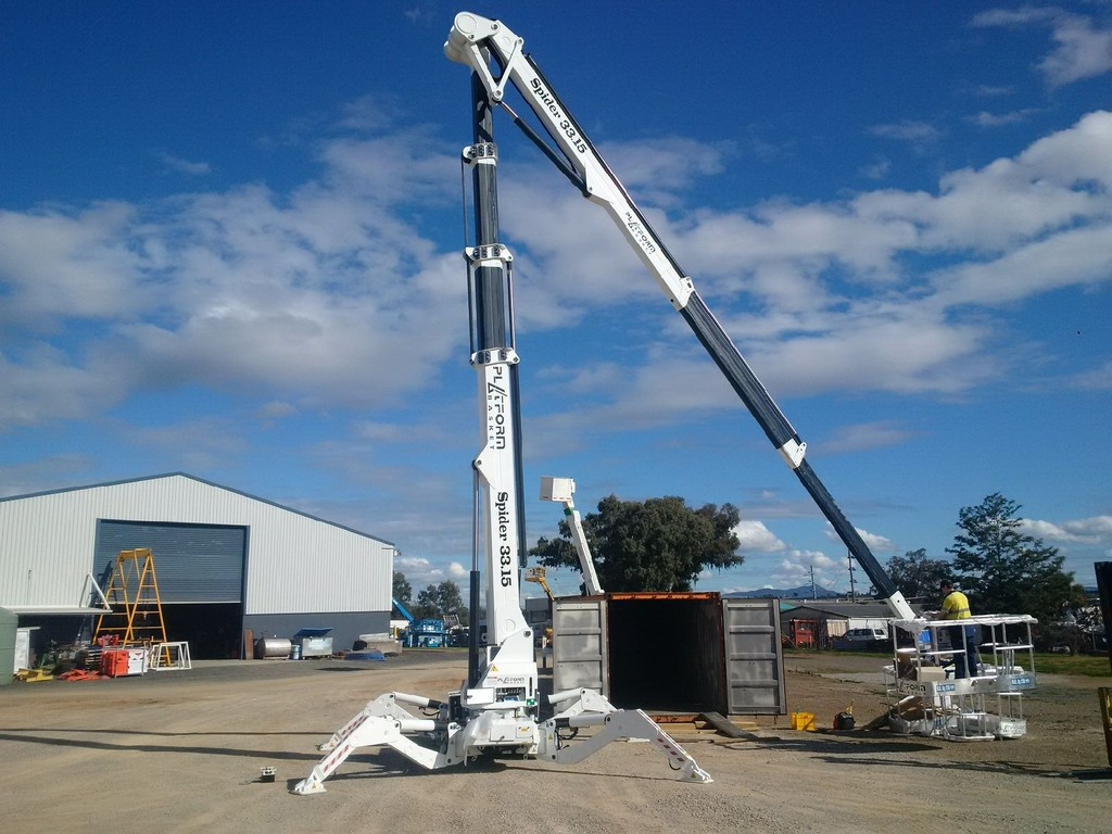 Platform Basket蜘蛛车降落在澳大利亚